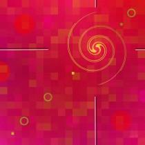Raspberry Wine - LTD 1/1 - Digital Art on Metal, by jennspoint