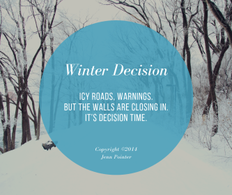 Winter Decision, by jennspoint