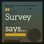 Survey says...