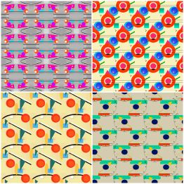 Expressionesque Pattern Collection by Jenn Pointer