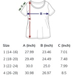 Spreadshirt Plus Size T-Shirt Size Chart